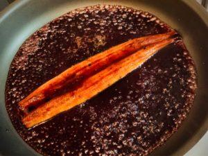 ワインに合ううなぎのタレの作り方